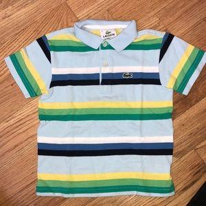 Toddler boy collar shirt